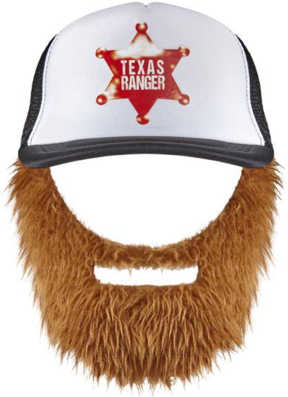 17a22bd025a Festivalshop - Hillbilly cap with beard Texas Ranger - 0