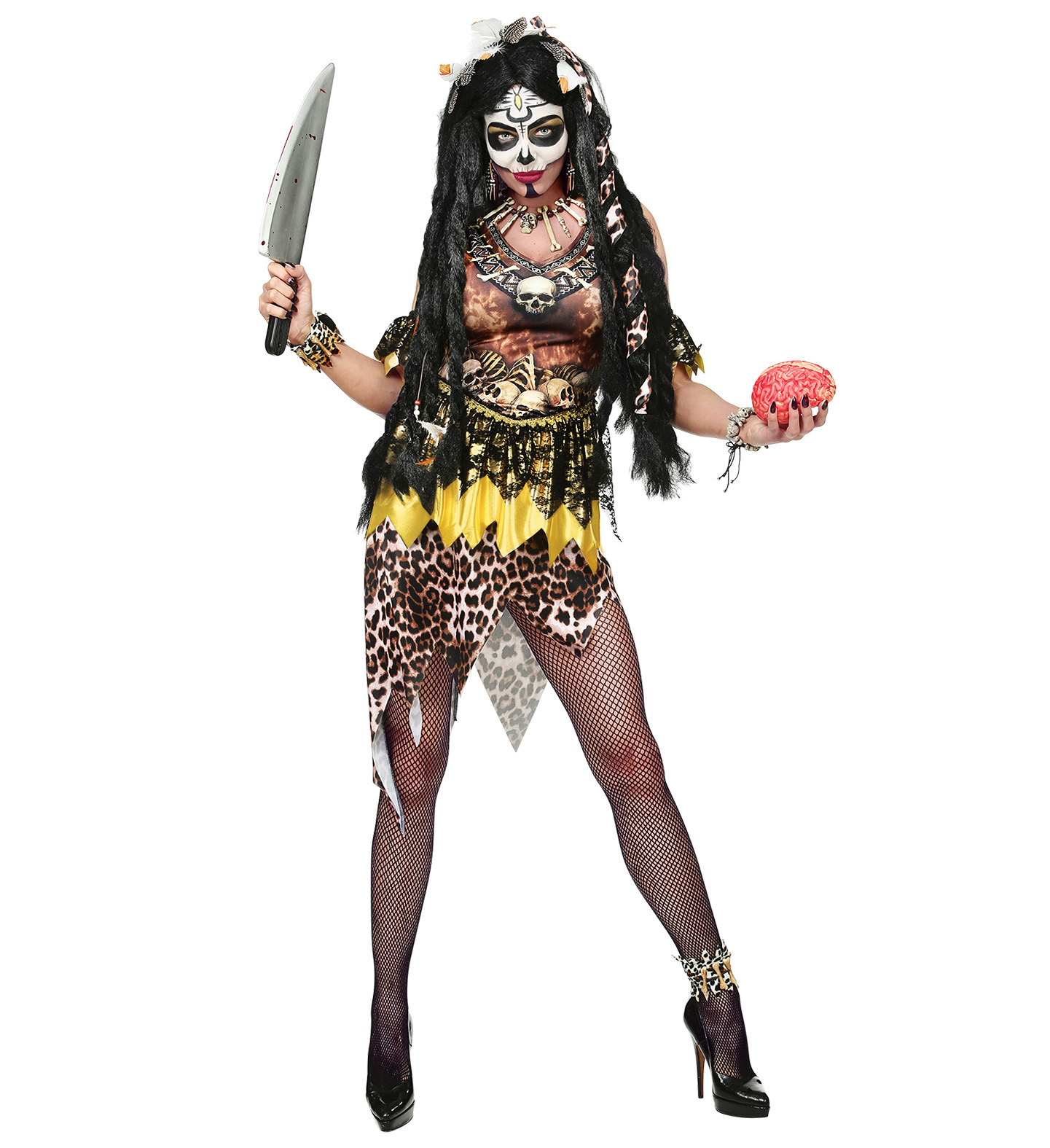 Festivalshop   Voodoo Priestess Sacerdotessa Primitiva   0