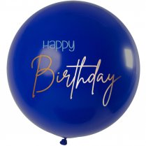 Festivalshop - 1 Ballon 80cm true blue happy birthday - FO66010