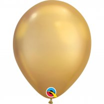 Festivalshop - 1 ballon Qualatex 30cm or chromé - FO58271Q