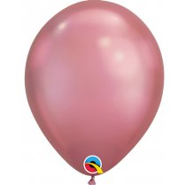 Festivalshop - 1 Qualatex Ballon 30cm Chrom lila - FO58275Q