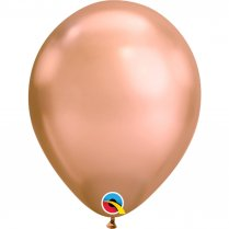 Festivalshop - 1 ballon Qualatex 30cm chrome rosé - FO12966Q