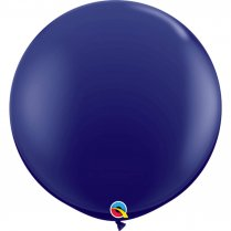 Festivalshop - 1 Qualatex balloon 90cm navy blue - FO57129Q