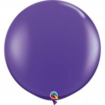 Festivalshop - 1 Qualatex balloon 90cm purple - FO82785Q