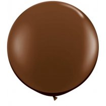 Festivalshop - 1 Qualatex balloon chocolate brown 90 cm - FO83660Q