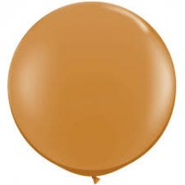Festivalshop - 1 Qualatex balloon mocha Brown 90 cm - FO44564Q