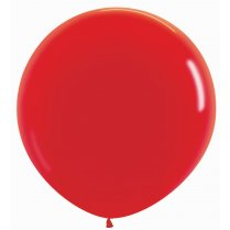 Festivalshop - 1 Sempertex balloon 90cm solid red - STR36015