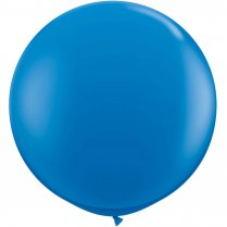 Festivalshop - 1 XL Balloon dark blue 90cm - FO19230