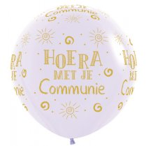 Festivalshop - 1 balloon 90cm communion lilac - STR36HC650