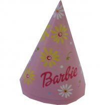 Festivalshop - 6 Party Hoedjes Barbie - FO7965