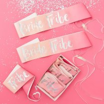 Festivalshop - Bride Tribe sashes - 6 Pack - GRBT308