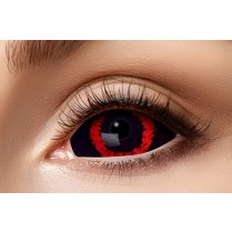 Festivalshop - Contact lenses 6 month sclera red demon - FA41993