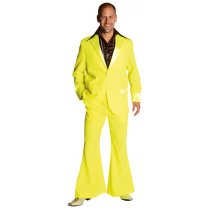 Festivalshop - 70′s disco costume fluo yellow - MA20720129