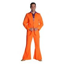 Festivalshop - 70′s disco costume fluo orange - MA20720127