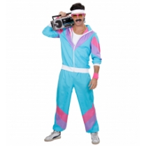 Festivalshop - 80′s Training shell suit blue - WD98871