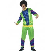 Festivalshop - 80′s Training suit green - SM43129