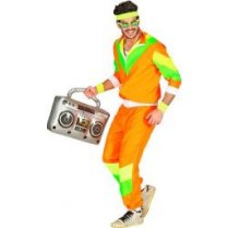 Festivalshop - 80′s training shell suit fluo kleur - WD10172