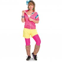 Festivalshop - 80′s trainingspak vrouw some like it hot - FO63325