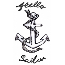 Festivalshop - Amy Winehouse - Hello Sailor Tattoo - TAT0098