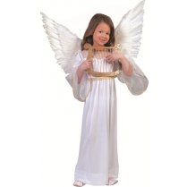 Festivalshop - Angel kleding kind Wit - 30/409173