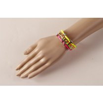 Festivalshop - Bracelet 4 neon colors party - MO50806