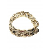 Festivalshop - Armband goud eighties pimp - 53/53793