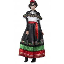 Festivalshop - Authentic Senorita Day of the Dead - SM44937