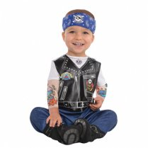 Festivalshop - Baby Hard Rock biker jumpsuit - AM9900880