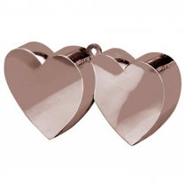 Festivalshop - Balloon weight Hearts silver - FO11711Z