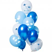 Festivalshop - Balloons ′It′s a boy′ blue - FO69340