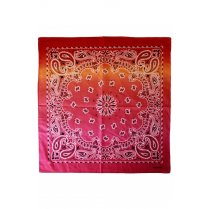 Festivalshop - Bandana dégradé rouge orange rose - PX10152