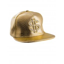 Festivalshop - Baseball Cap Gold with Dollar Sign - 63/63568