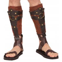 Festivalshop - Leggings Roman Leatherlook Braun - WD09667