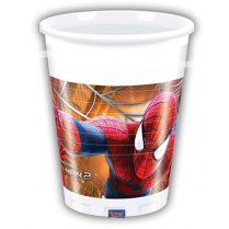 Festivalshop - Bekers Spiderman Plastic - 82950P