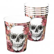 Festivalshop - Bekertjes Day of the dead 6 stuks - BO97077