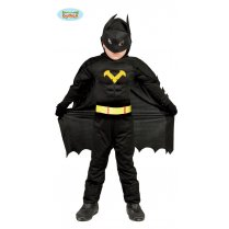 Festivalshop - Black Hero Zwarte Superheld Kind - FG83164