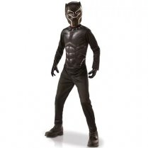 Festivalshop - Black Panther kostuum set in doos - RF155111