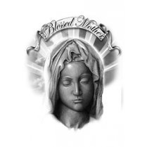 Festivalshop - Blessed Mother Tattoo - TAT0094