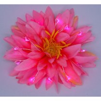 Festivalshop - Bloem LED glow roze - AT2205