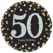 Festivalshop - Borden Happy Birthday Sparkling 50 jaar - AM551546