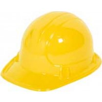 Festivalshop - Construction helmet child yellow plastic - FO21557