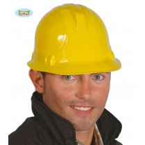 Festivalshop - Construction worker helmet yellow adult - FG13894