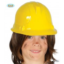 Festivalshop - Construction worker helmet child yellow - FG13893