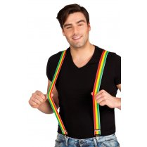 Festivalshop - Suspenders Rasta Red Yellow Green - BO00604