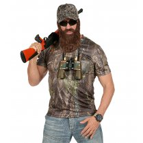 Festivalshop - Camouflage shirt hunter with cap - WD96553