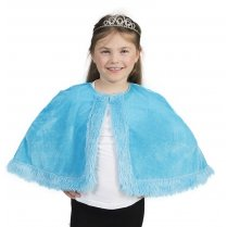 Festivalshop - Cape Prinses Kind Blauw One Size - 30/409343