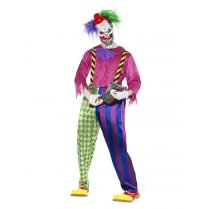 Festivalshop - Clown colorful killer - SM21623