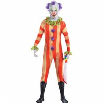 Festivalshop - Clown horror freakshow morphsuit - AM844495