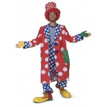 Festivalshop - Clown jas lang gebold Cookie - 30/606214