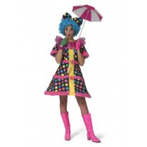 Festivalshop - Clown kleed hotty dotty gebold - 30/506208